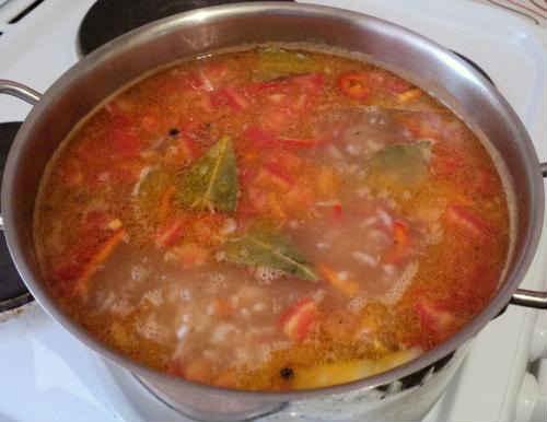 суп из кильки в
