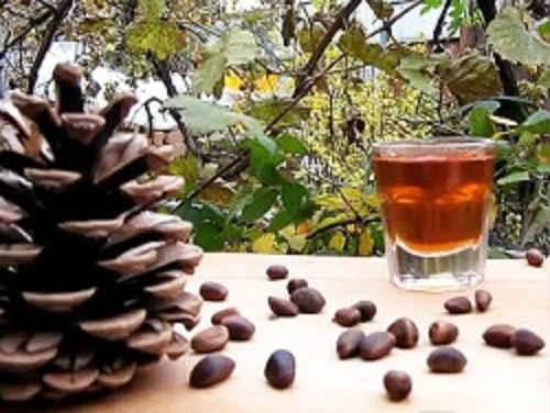 кедровый орех настояный на водке - рецепты