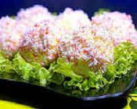 Сырные шарики с крабовыми палочками — рецепт с фото