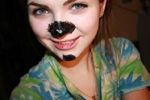 как избавиться от чёрных точек на носу
