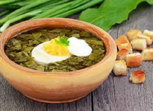 щавелевый суп рецепт