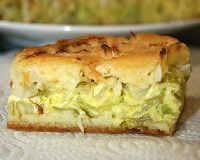заливной пирог с капустой рецепт на сметане и майонезе