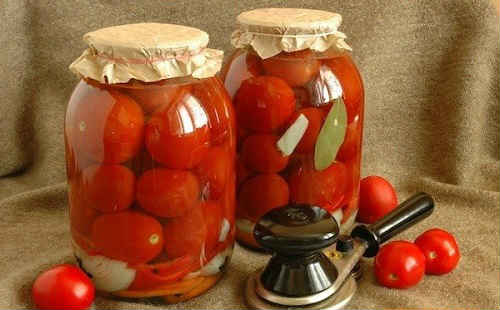 помидоры на зиму без уксуса