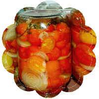 рецепты помидоров половинками