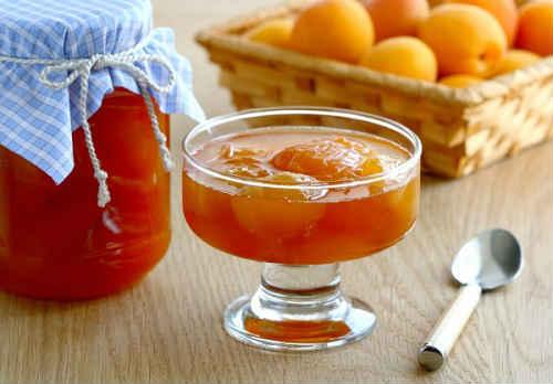 варенье из абрикосов дольками с желатином