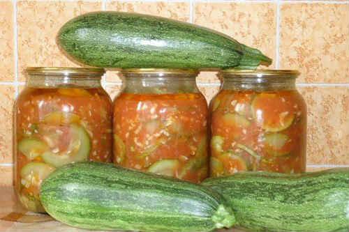 салат из кабачков на зиму рецепты
