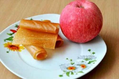 яблочная пастила в домашних условиях