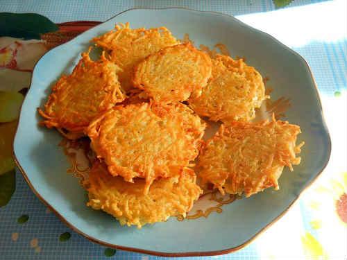 Рецепт белорусских драников