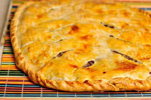 как приготовить мясной пирог в духовке