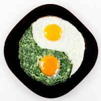 как приготовить яичницу глазунью