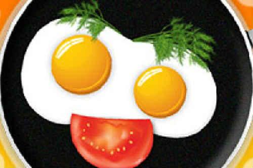 как приготовить яичницу с колбасой
