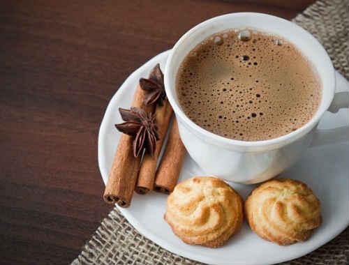 какао из порошка на молоке