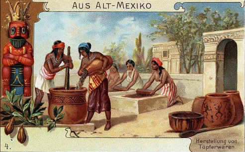 какао история происхождения