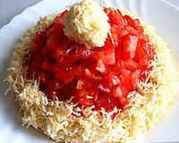 салат красная шапочка рецепт с курицей