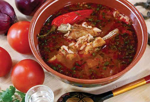 суп харчо рецепт вес