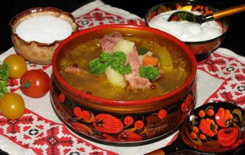 гороховый суп с копченостями рецепты