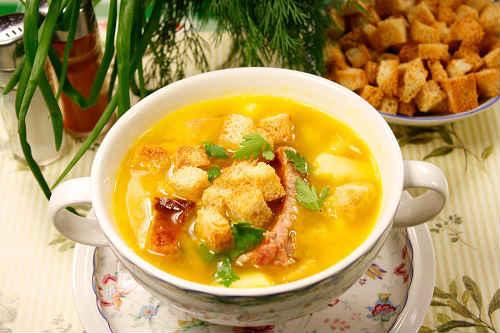 гороховый суп с копченостями в мультиварке рецепт