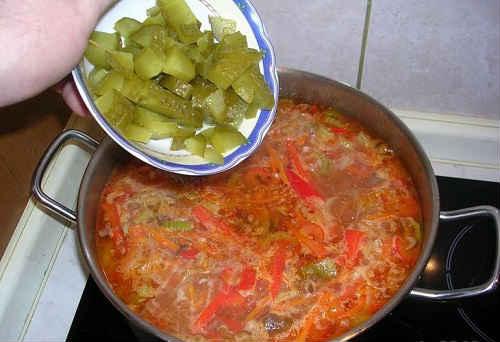 рыбная солянка рецепт