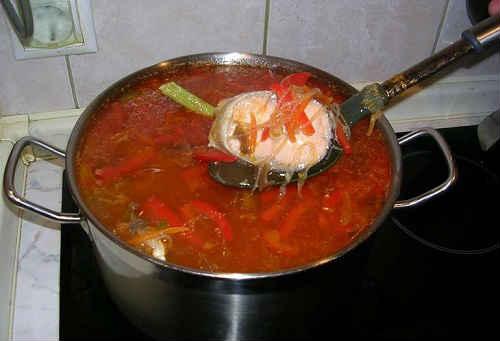 рыбная солянка рецепт приготовления