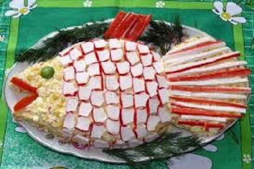 крабовые палочки рецепт с сыром