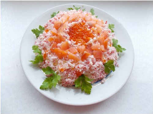 салаты с рисом и капустой рецепты