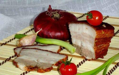 Сало в луковой шелухе рецепты засолки