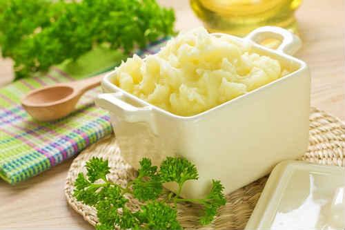 Картофельное пюре из молока и масла калорийность