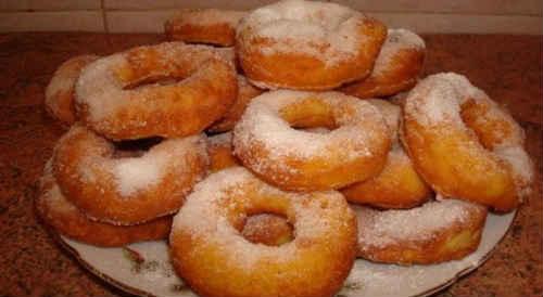 пончики в домашних условиях жареные в масле
