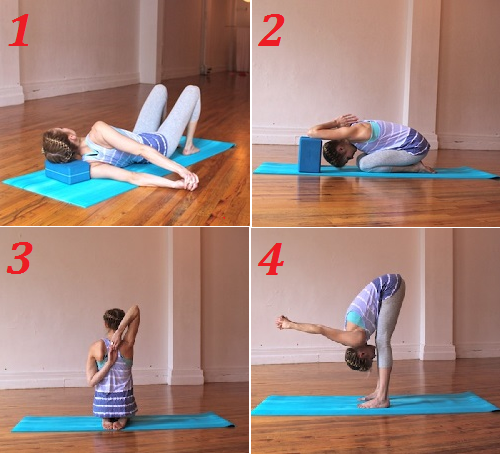 упражнения йоги при остеохондрозе