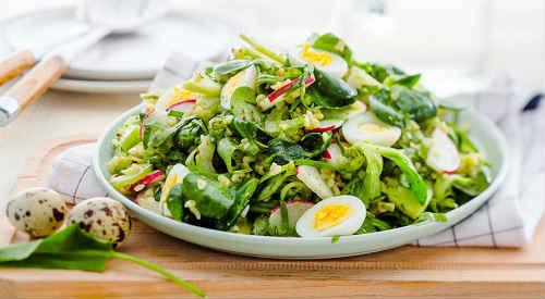 салат из щавеля рецепты