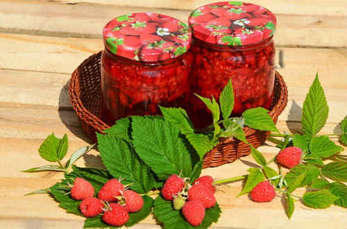 малиновое варенье на зиму с целыми ягодами