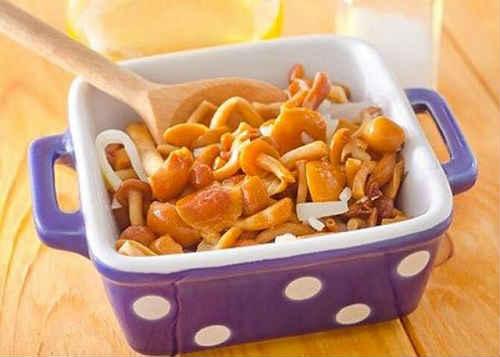 лисички рецепты приготовления маринованные