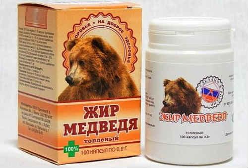 медвежий жир детям