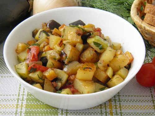 рецепты рагу с капустой и мясом