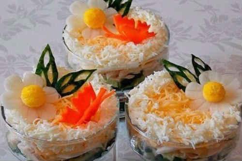 курица с ананасами и капустой салат рецепт классический