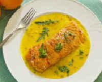 Рыба по-китайски в апельсиновом соусе
