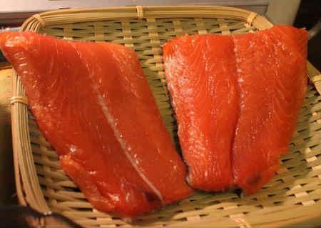 Семужный посол красной рыбы в домашних условиях