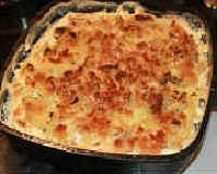 Картофель запеченный в духовке «Искушение Янсона»