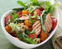 Салат Айсберг - рецепты приготовления с овощами, грибами, курицей