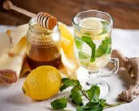 чай с имбирем лимоном и медом