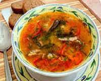 Суп из кильки в томатном соусе — рецепты