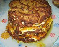 Печёночный торт - пошаговый рецепт с фото из говяжьей и куриной печени