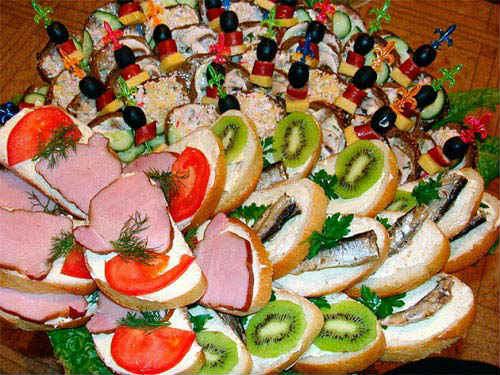Праздничные бутерброды рецепты с фотографиями