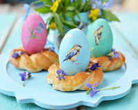 Как покрасить яйца на Пасху своими руками - фото