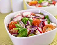 Рецепты приготовления салатов из редиски