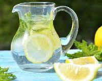 вода с лимоном как приготовить