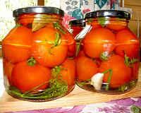 Солёные помидоры на зиму - лучшие рецепты