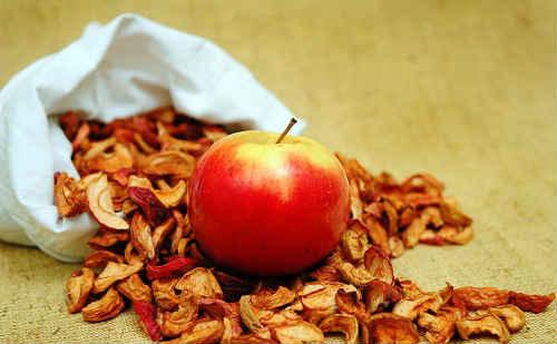 яблоки сушеные в духовке