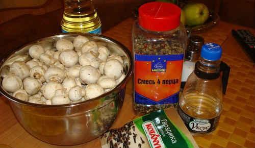 Шампиньоны рецепты приготовления