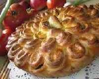 Мясной пирог в духовке - рецепты из обычного, слоеного теста, на кефире